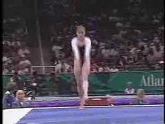 Lilia Podkopayeva- 1996 Compulsories Floor Routine