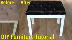 See this handy before and after furniture DIY | Maddox Makeup Company