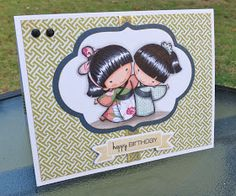 Wahine Inks...: Sister Stamps - BFF's