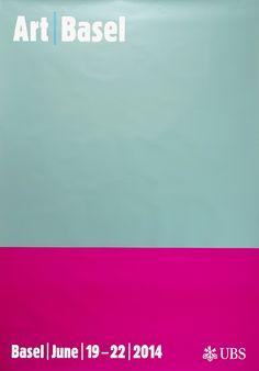 Art Basel Posters 2014 (New) : DEMIAN CONRAD DESIGN