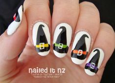 Nailed It NZ: Witch Hat Nail Art for Halloween!