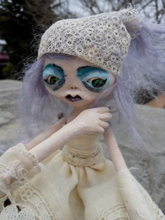 OOAK Art Doll Anise by LotusAsylum on Etsy, $130.00