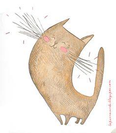 Joyful Happy Kitty
