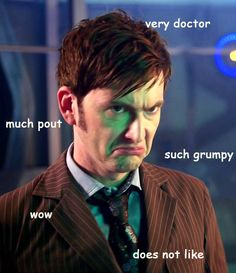 Wow. Very doctor. I dislike this meme so much but... Much cute.