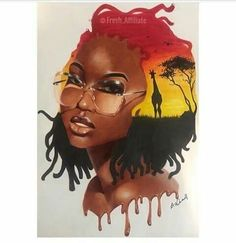 Art Gives me Life Art Black Love, Black Girl Art, My Black Is Beautiful, Black Girl Magic, Art Girl, African American Art, African Art, American Women, Art Afro Au Naturel
