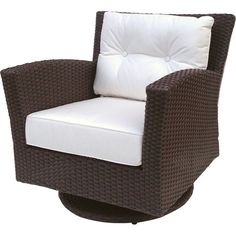 Found it at Wayfair - Sonoma Swivel Rocking Chair with Cushions