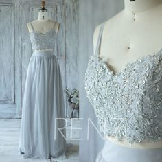 2017 Light Gray Bridesmaid Dress with Beading, Sweetheart Wedding Dress, Spaghetti Straps Formal Dress, Long Prom Dress Floor Length (X073) von RenzRags auf Etsy https://www.etsy.com/de/listing/385157436/2017-light-gray-bridesmaid-dress-with