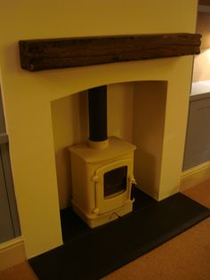 Designs by Cotton Tree Interiors UK. T: 01728 604700. Woodburner by Charnwood.
