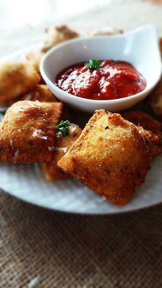 Crispy Raviolis. #food ... | Edibles