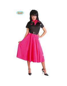 Disfraz vestido a os 50 puntos rosas mujer disfraz - La casa de los disfraces sevilla montesierra ...