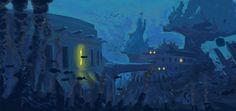 BioShock Art & Pictures,  Underwater Environment Art