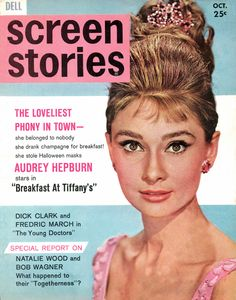 screen stories cover with Audrey Hepburn