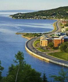 Beautiful Coast Road Quebec – Canada
