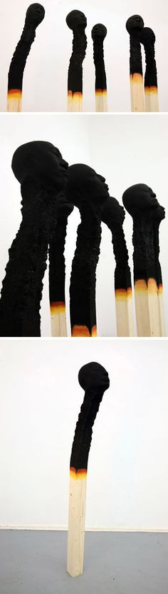 Matchstickmen by Wolfgang Stiller | The Artful Desperado