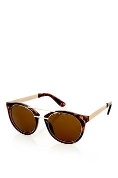 ea7926c162 LOLA Laid On Metal Sunglasses Gafas De Sol, Concha De Tortuga, Ámbar,  Conchas