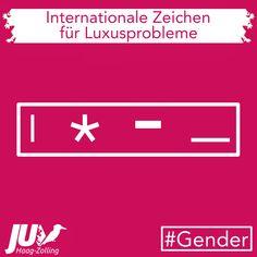 """""""Der Gebrauch des sogenannten Gender-Stars verweist auf jene, die nicht wissen, ob sie Männlein oder Weiblein sind. Es zeugt von einer politischen Infantilisierung, wie sie wohl nur unter den Daunenbetten von Wohlstandsgesättigten hervorkriecht."""" #Gender #Luxusprobleme #deutsch #politics #mann #frau #luxus #deutschland Gender, Letters, Movies, Movie Posters, Husband Wife, Politics, Luxury, Knowledge, Germany"""