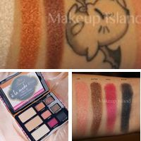 Too Faced A la mode eyes swatches