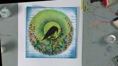 Barric the Crow - a time-lapse demo Watch Tracey create this super card using Barric the Crow - one of the stamps that will be featured in our Hochanda TV show on Thursday of August 2019 Card Making Tips, Card Making Techniques, Distress Ink Techniques, Lavinia Stamps Cards, Gelli Plate Printing, Gelli Arts, The Crow, Alcohol Ink Art, Card Tutorials