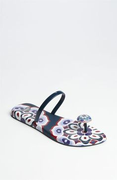 4b6598aacc26 Mel by Melissa Pepper Jelly Sandal with a colored mushroom for your toes.  So cute
