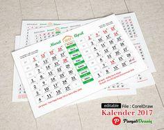 Kalender Tanggalan 2017 Lengkap dengan tanggalan Hijriyah & Jawa
