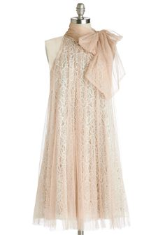 Time and Grace Dress in Champagne. The time and place have been chosen, and now its up to you to find the best dress for the occasion! #tan #wedding #bridesmaid #prom #modcloth