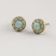 Pacific Opal Stud Earrings-Pacific Opal Stud Earrings   World Market