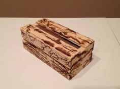 Fractal Burn Art Mini Crate by DusekArtDesigns on Etsy