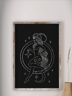 Capricorn Mermaid Tattoo, Capricorn Art, Pencil Texture, Charcoal Paper, Black Girls With Tattoos, Minimalist Drawing, Zodiac Art, Astrology Signs, Paper Background