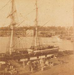 Circular Quay (c. late 1850s)