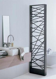 Radiadores decorativos en el baño