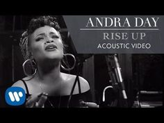 """Andra Day - Rise Up [Live Acoustic Video]. """"I'll rise up. in spite of the ache. I will rise a thousand times again"""". The Power Of Music, Sound Of Music, Music Love, My Music, Soul Music, Music Lyrics, Music Is Life, I Will Rise, Brave"""