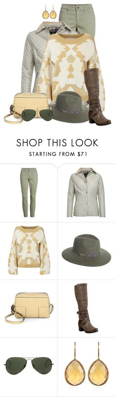 """""""Untitled #2588"""" by anfernee-131 ❤ liked on Polyvore featuring NYDJ, Barbour, Caroline Constas, Tory Burch, Miz Mooz and Ray-Ban"""