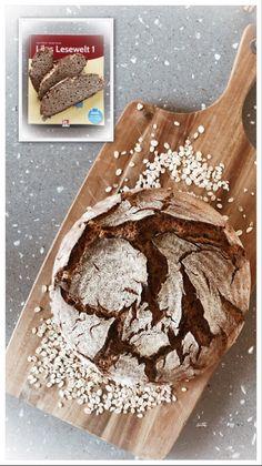 Ein Brot, das wie ein Turbolader neue Energie gibt! Und Hoffnung ... weil Lesen-Lernen kann ganz schön Nerven kosten ...dem Fortpflanz, wie der Mutter! ;-)
