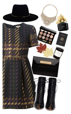 """""""We Were The Lucky Ones"""" by itsvanessaxoxo ❤ liked on Polyvore featuring Byredo, Heritage Lace, Bobbi Brown Cosmetics, Balenciaga, P.A.R.O.S.H., Gianvito Rossi, Zimmermann, Marc Jacobs, Bebe and Royce Leather"""