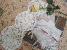Лепота из лоскута: Филейное вязание начало