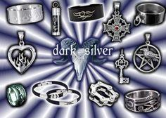 Dark Silver Jewellery
