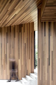 i can't breathe...all this wood! Screen House by Alain Carle