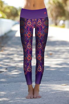 Crochi leggins Colorful Graffiti Doodles Printed Leggings pant