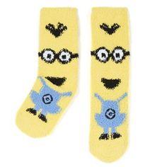 Primark - Fuzzy Minions Socks