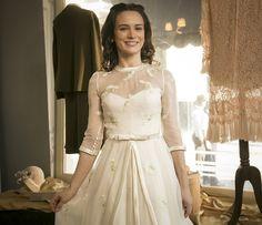 Bianca Bin posa com o vestido de noiva de Maria em 'Êta Mundo Bom!' (Foto…