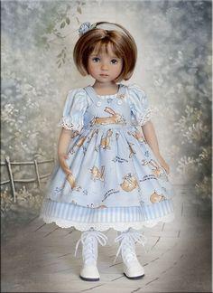 "Кролик Любовь на Tauni 13 ""Effner Маленькая Дарлинг Бетси Маккол мадам Александра   eBay"