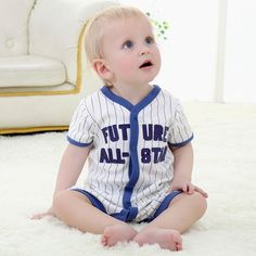 Sweet Baby Short Sleeve Jumpsuit  Do you love it? :)