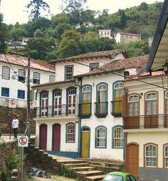 Ouro Preto, Minas Gerais , Brasil. Estive aqui 3 vezes e adorei. A primeira vez eu tinha uns 18 anos de idade
