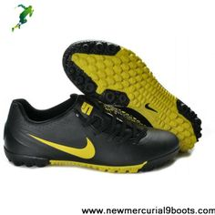 Nike5 Bomba Finale Turf indoor in black yellow Soccer Shoes Store