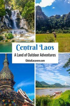 Laos is one of the most beautiful countries I have seen and it's less crowded than Thailand!