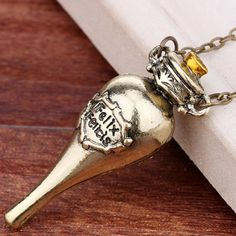 Trendy Harry Potter Felix Felicis Pendant Necklace For Women