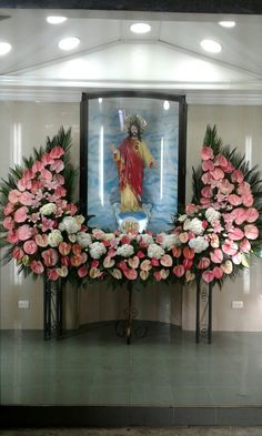 Decoración Sagrado corazón de Jesús semana santa 2017