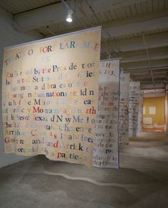 Gina Adams - Its Honor is Here Pledged (2015), modified vintage quilts