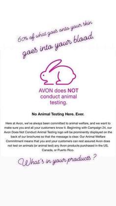 Тестируется ли косметика эйвон на животных купить косметику оптом красноярск