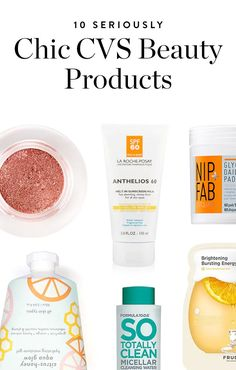 10 Secretly Chic Beauty Products You Can Buy at CVS via @PureWow